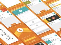 Mobile Maintenance App UI