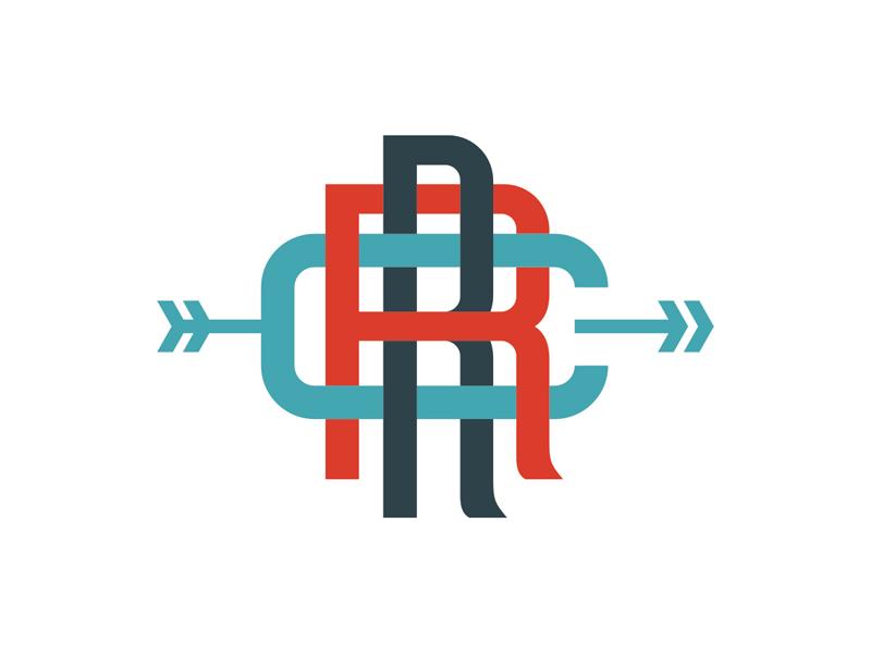 Riot Running Club Monogram running running club riot monogram arrow run track train club branding robby davis louisville