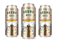 Brown Note Can - Against the Grain Brewery