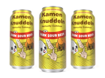 Kamen Knuddeln Can - Against the Grain Brewery