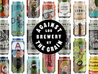 Against the Grain Beer Cans