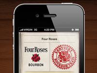Bourbon Trail Passport Check in