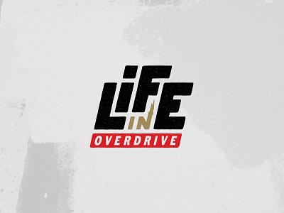 Life in Overdrive branding kentucky robby davis louisville colorways pattern life coach automotive process concept typography handlettering logo design logo branding brand