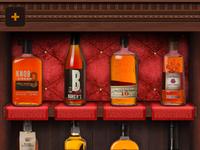 Bourbons of the Kentucky Bourbon Trail App