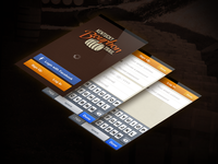 Kentucky Bourbon Trail App Load Screens