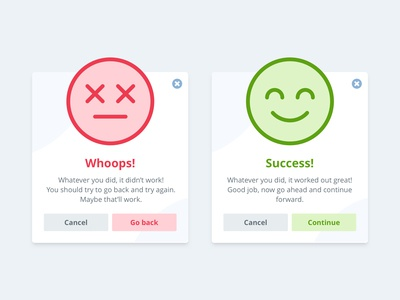 Success and Error Flash Messages - Daily UI #011