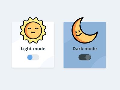 Light / Dark Switch - Daily UI #015