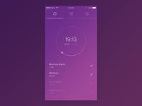Dribbble 013 - Alarm Clock