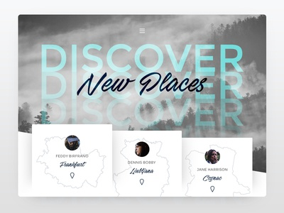 Travel Website - Discover New Places