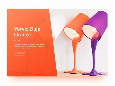Orange Lamp home basket add light lights card product lamp orange