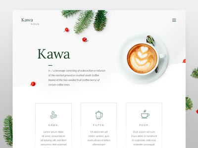 Kawa = Coffee filter bean simple minimal kawa latte cafe drink coffee