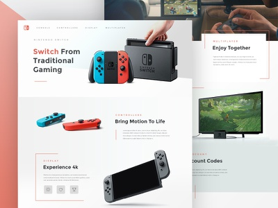 Nintendo Switch controller game website play console gaming switch nintendo