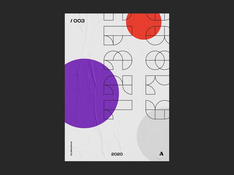 / 003⠀ fonts type art font design line art circles abstract design font outline design artwork visual design visual art poster art graphic design plakat type design typogaphy art poster design poster