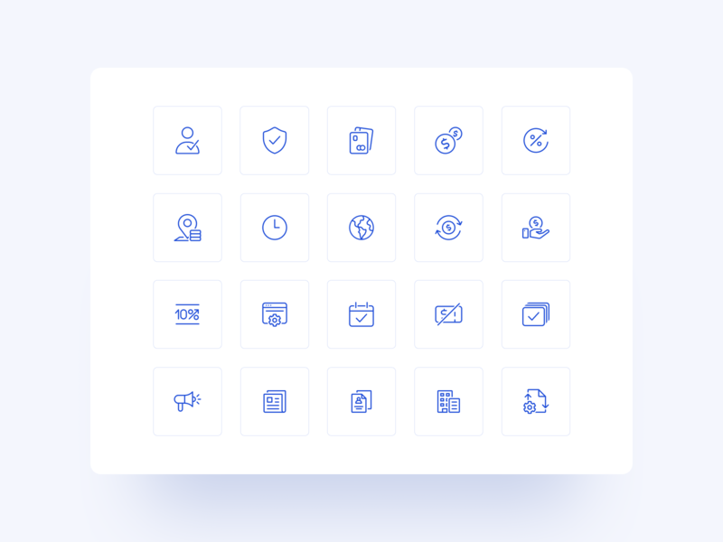 Nexo - Outline Icon Set ui stroke icons interface icons outline money cryptocurrency app figma nexo crypto fintech cryptocurrency crypto wallet linear icons design system graphic design icon design icons pack iconography iconset icons