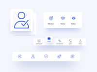 Nexo - Iconography design system guidelines mobile ui interface icons duotone solid icons linear icons ui elements navigation bar outline icon crypto fintech nexo iconography icons pack icon set icons product design ui design
