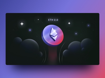 Dispatch - Ethereum 2.0 crypto wallet banking fintech cosmos stars digital assets nexo finance cryptocoin coin cryptocurrency crypto illustrator illustration graphic design ethereum adobe eth abstract futurism
