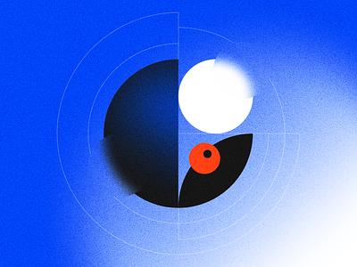 C - 36 Days of Type glassmorphism eye circles letter c typographic 36 days of type 2021 letter design letter 36 days of type figma figma design type design typeface typogaphy design graphic design illustration