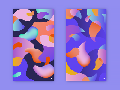 Fluids - free iPhone wallpapers