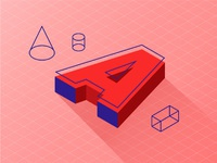 A isometric letter 02