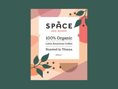 Space Coffee Sticker