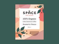 Space Coffee Sticker