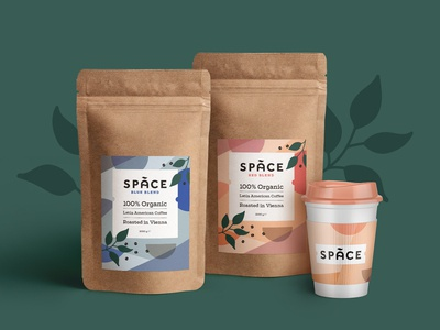 Space Coffee Packaging