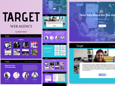 Target figma design web branding ui