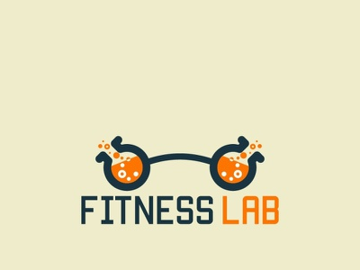 Modern Gym Logo health medicine lab graphic design app illustration ui vector branding design logo fitness fit gym modern