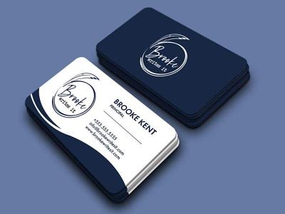 Minimal Business Card Design ui corporate business card id card company logo branding graphic design design creative minimalist minimal