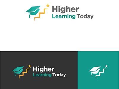 Educational Logo Design ux logo design vector app higher ui university school learning education educational logo graphic design design branding