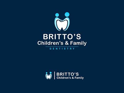 Minimal Dental Logo Design medical medicine clinic teeth modern minimal illustration app ui branding vector graphic design design logo dental logo dental