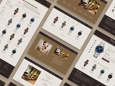 Roman Mayer web store overview muzli sketch app ukraine jewelery design uidesign ux  ui ux ecommerc store ui web clean