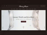 Luxury Watches Landing animation