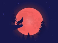 Lunar Eclipse : Blood Moon
