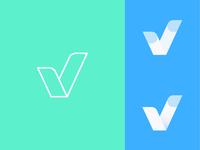 "Daily Logo Challenge: Day 4 ""Single Letter"" V2"