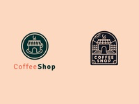 "Daily Logo Challenge: Day 6 ""Coffee Shop"" V2"