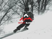 """Daily Logo Challenge: Day 8 """"Ski Mountain"""""""