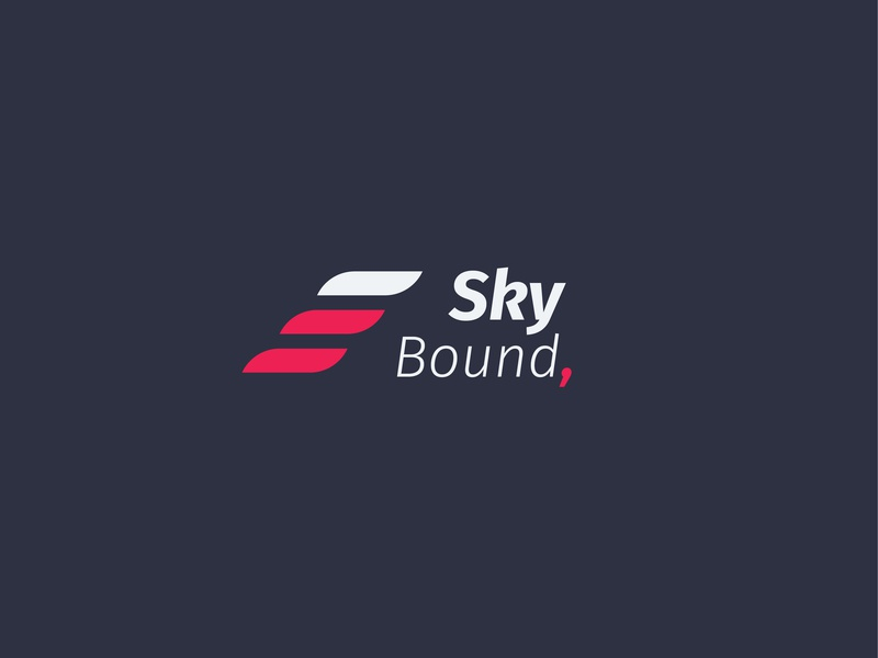 "Daily Logo Challenge: Day 12 ""Airline Company"" airtrack sky bound skybound daily challange graphic  design dailylogo dlc design shape abstract illustration dailylogochallenge logo golden ratio"