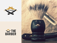 "Daily Logo Challenge: Day 13 ""Barbershop"" V2"