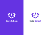 "Daily Logo Challenge: Day 21 ""Coding School Logo"""