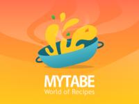 Mytabe App Icon Illustration