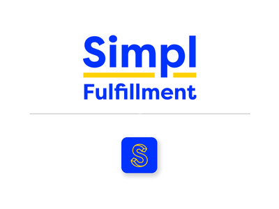 Simpl app 3d type icon sans serif start up product design identity app wordmark typography tech ecommerce branding