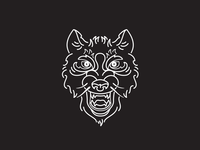 The Banner Years - Wolf head