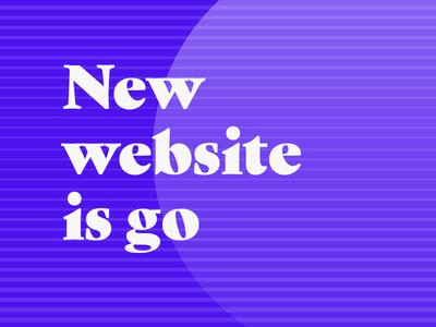 The Banner Years website is go! gradients simple the banner years website design launch web design typography gradient lines branding webflow