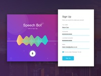 #Daily UI 001 Signup Page