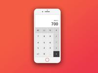 #DailyUI 010 Calculator