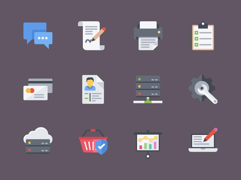 Free Flat Icons set design flat free icon eps ai psd icons freebies free