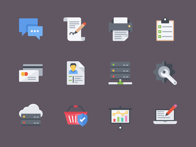 Free Flat Icons set design flat free icon eps ai psd icons freebies free