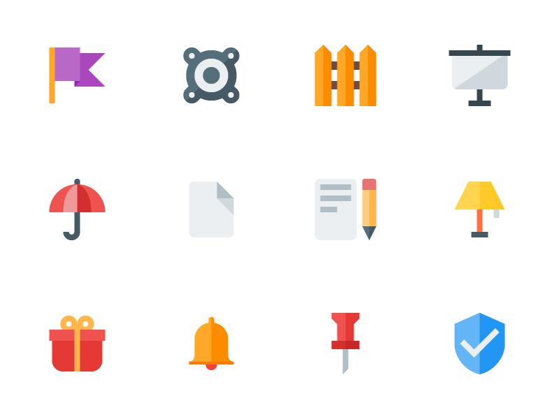 Material Design Flat Icons eps ai icon freebies freebie psd vector flat seo icons free