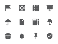 Material Design Glyph Icons